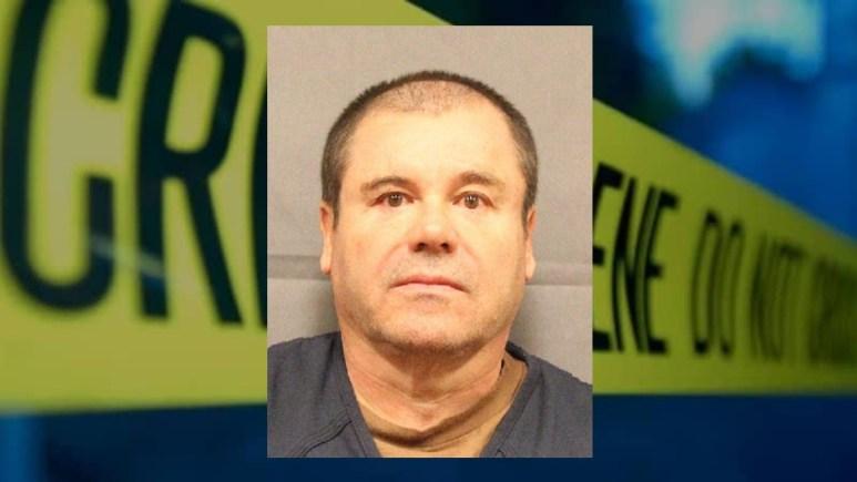 Mugshot of El Chapo