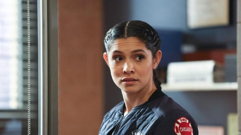 Miranda Rae Mayo as Stella Kidd in Chicago Fire