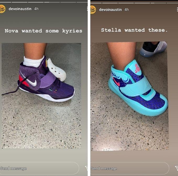 Devoin Austin formerly of Teen Mom 2 on Instagram
