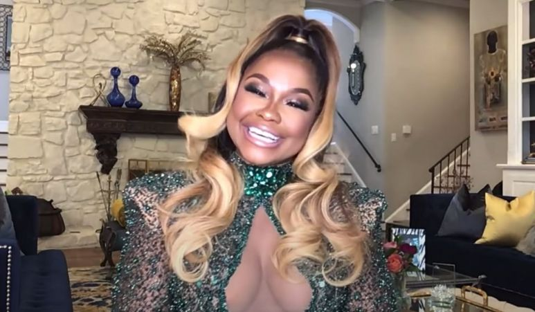 Phaedra answering fan questions on Watch What Happens Live! with Andy Cohen