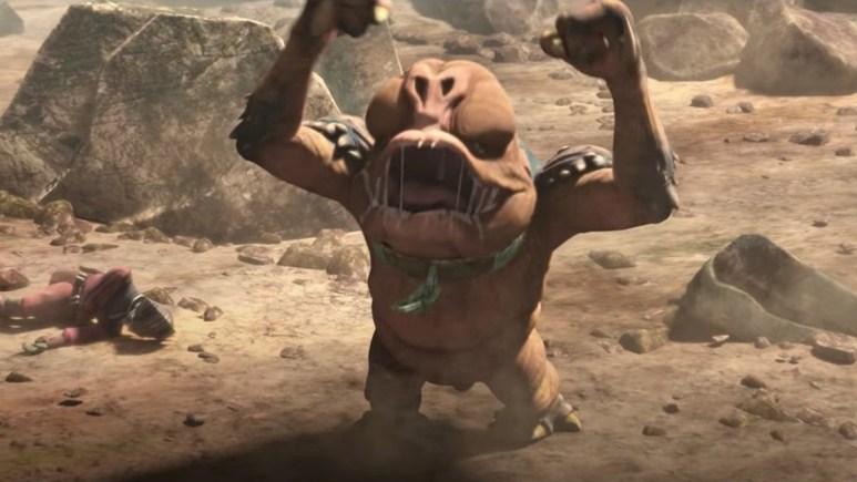 Star Wars baby rancor