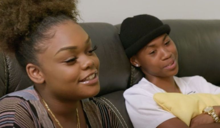 Kiaya and Teazha working out their issues with a couple's terapist.