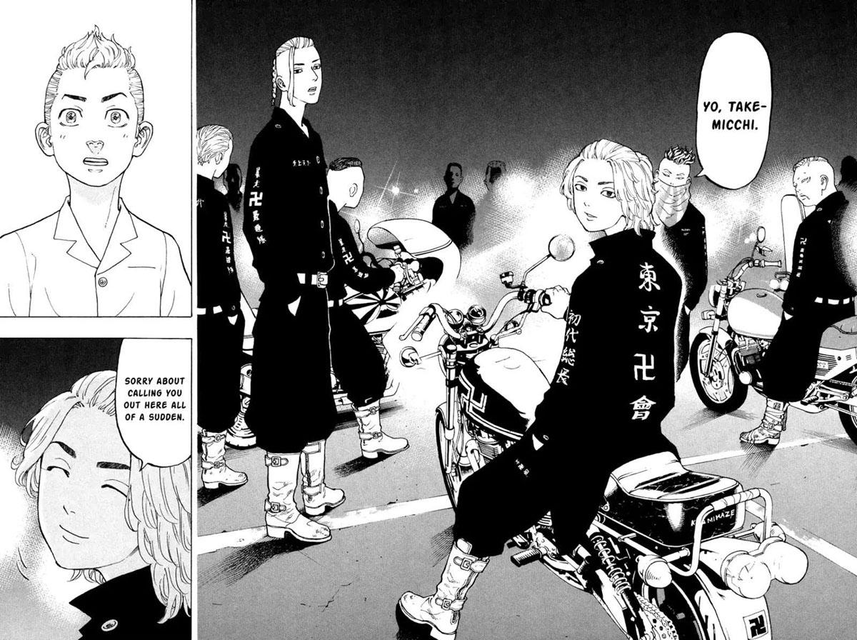 Tokyo Revengers Manji Manga