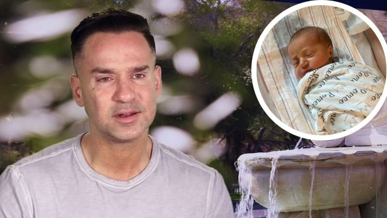 Mike Sorrentino and his son Romeo Reign