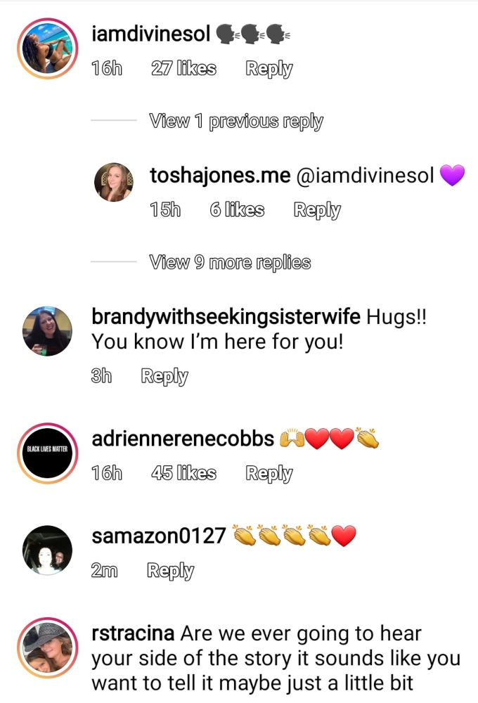 Vanessa Cobbs formerly of Seeking Sister Wife on Instagram