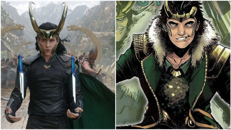 Versions of Loki in Marvel Comics and the MCU movies