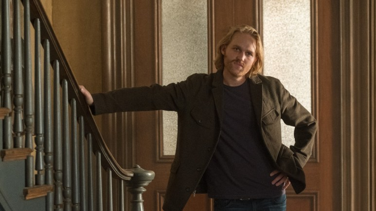 Wyatt Russell as David from The Woman in the Window.