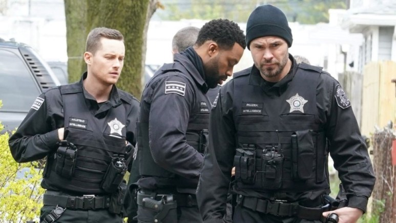Production still from the set of Chicago PD