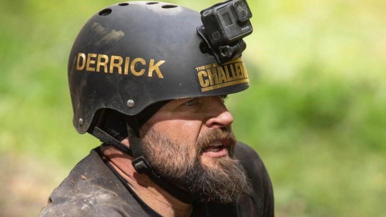 derrick kosinski during the challenge all stars episode