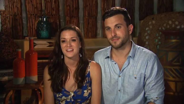 Jade Roper and Tanner Tolbert film for Bachelor in Paradise