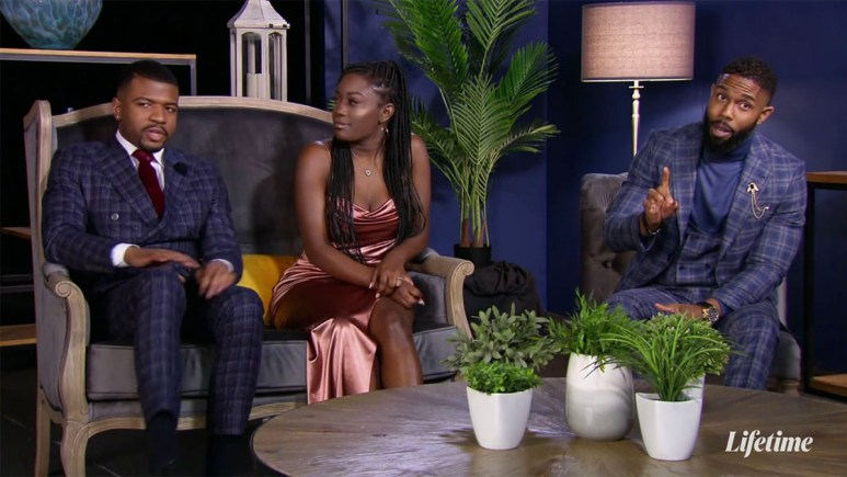 Chris, Paige and Dwight at the reunion