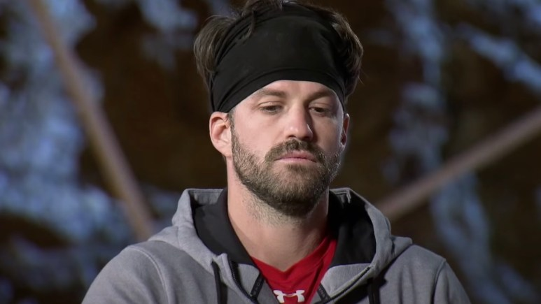 johnny bananas during the challenge elimination