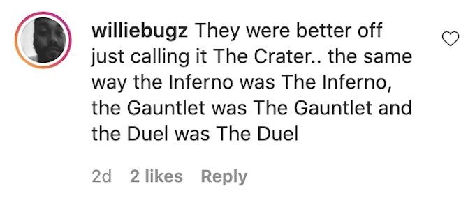 the challenge fan comments on season 37 show title