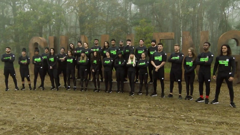 the challenge competitors on total madness first episode