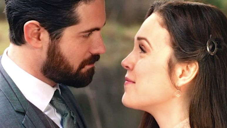 Lucas and Elizabeth on When Calls the Heart