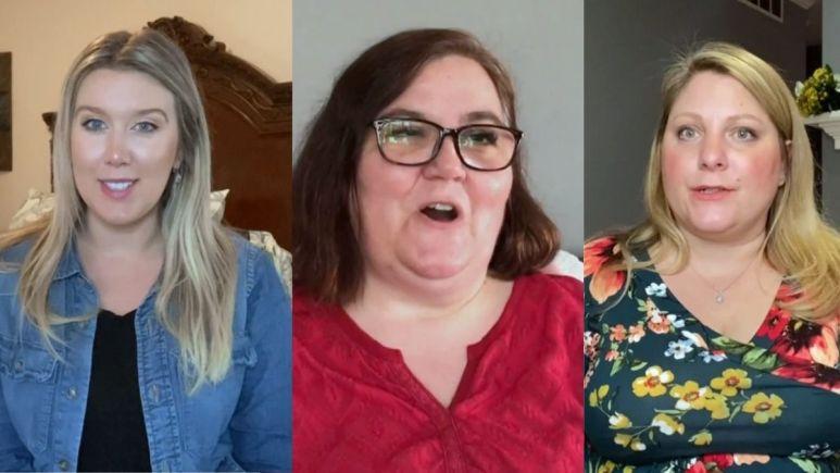Danielle, Cortney, and Anna