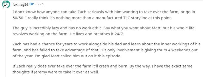 Zach and Tori Roloff of LPBW on Reddit
