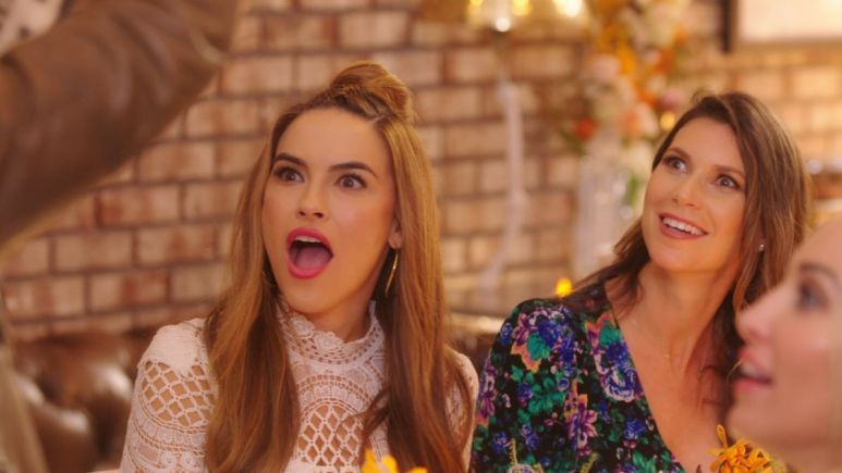 Chrishell Stause teases new Selling Sunset cast members Emma Hernan and Vanessa Villela .