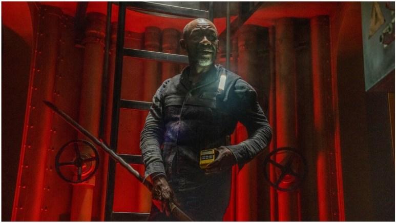 Lennie James stars as Morgan Jones, as seen in Episode 15 of AMC's Fear the Walking Dead Season 6