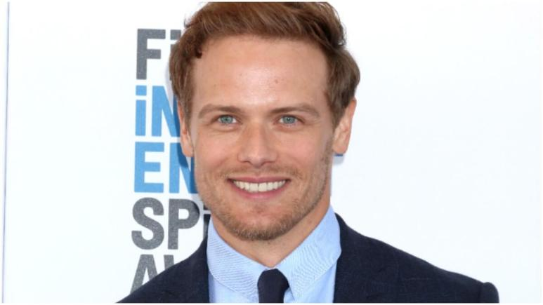 Sam Heughan at the 2019 Film Independent Spirit Awards on the Beach on February 23, 2019, in Santa Monica, CA