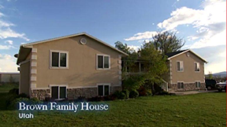 Sister Wives home in Lehi, Utah on TLC