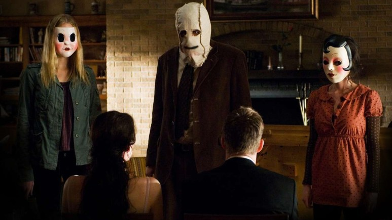 The masked invaders in The Strangers.