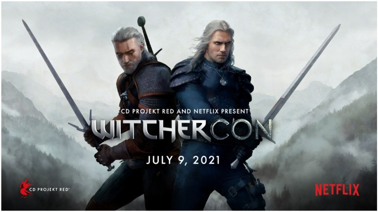 Promotional poster for WitcherCon