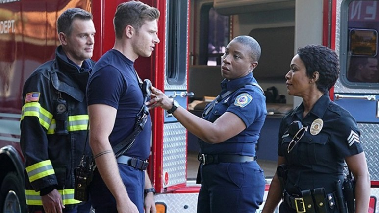 The cast of 9-1-1