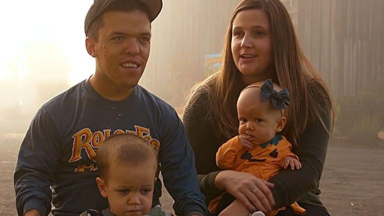 Zach, Tori, Jackson and Lilah Roloff of LPBW