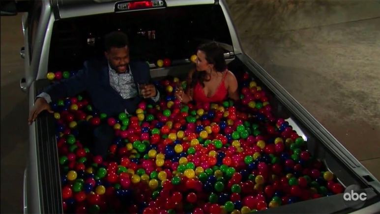 Tre and Katie on The Bachelorette