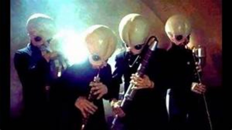 Alien band in Star Wars