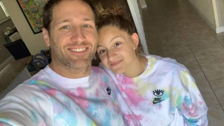 Juan Pablo and his daughter Camila Galavis
