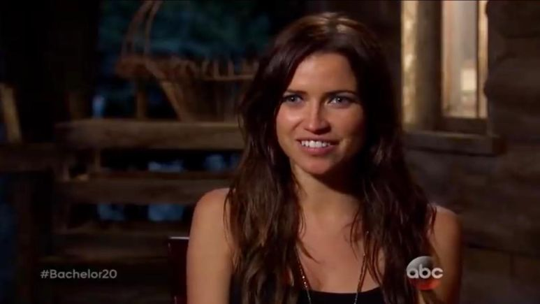 Kaitlyn Bristowe smiles at the camera on The Bachelorette