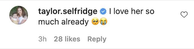 taylor selfridge comments ashley kelsey ig post