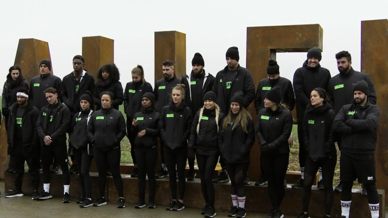 the challenge total madness cast members at mission site