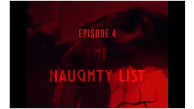 Episode 4 of FX's American Horror Sotires is titled 'The Naughty List