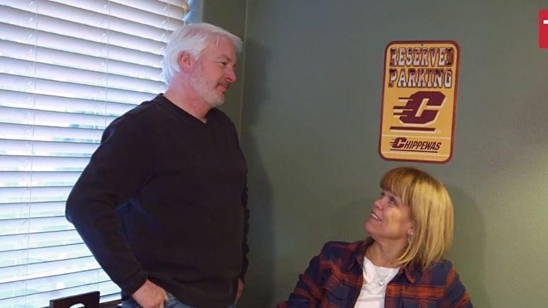 Chris Marek and Amy Roloff of LPBW on TLC