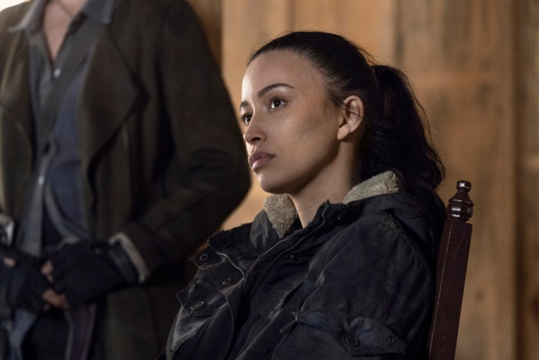 Christian Serratos stars as Rosita Espinosa, as seen in Season 11 of AMC's The Walking Dead