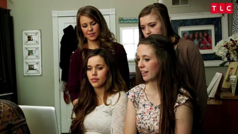 Jana, Jessa, Jill, and Joy-Anna Duggar.