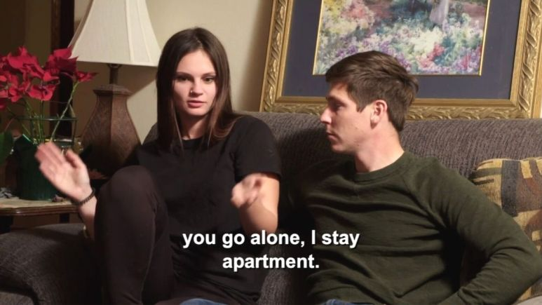 Julia and Brandon