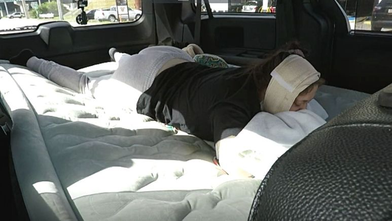 jade cline after surgery on teen mom 2