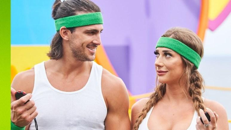 Jeremy and Olivia on Love Island USA