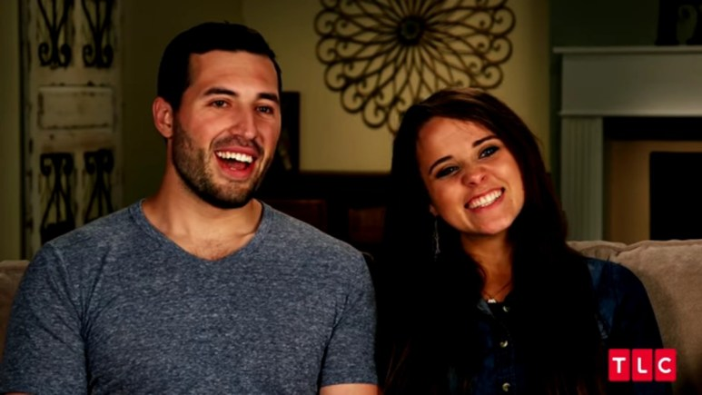 Jeremy Vuolo and Jinger Duggar in a confessional.