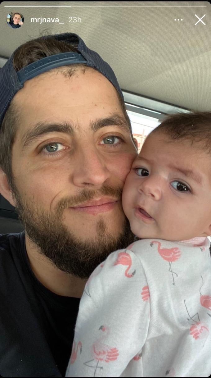 Jorge Nava shares photo of his baby girl,Zara