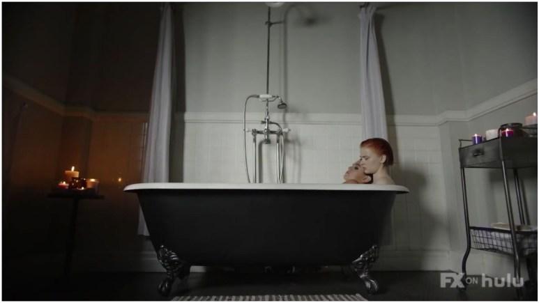 Kaia Gerber as Ruby and Sierra McCormick as Scarlett, as seen in Episode 2 of FX's American Horror Stories