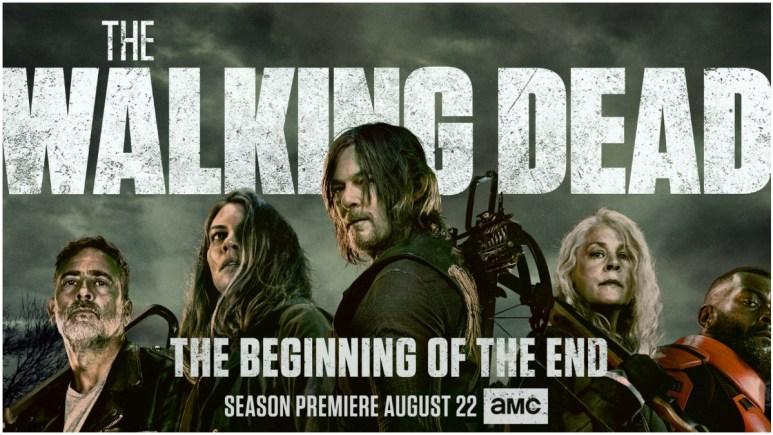 Key artwork for Season 11 of AMC's The Walking Dead