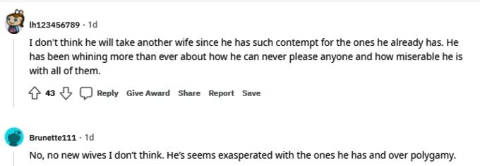 kody brown of sister wives on reddit