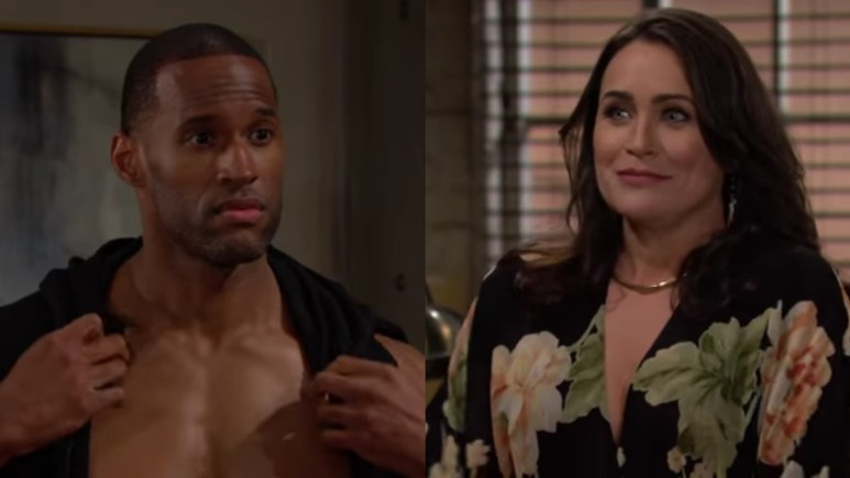 Quinn and Carter on The Bold and the Beautiful.