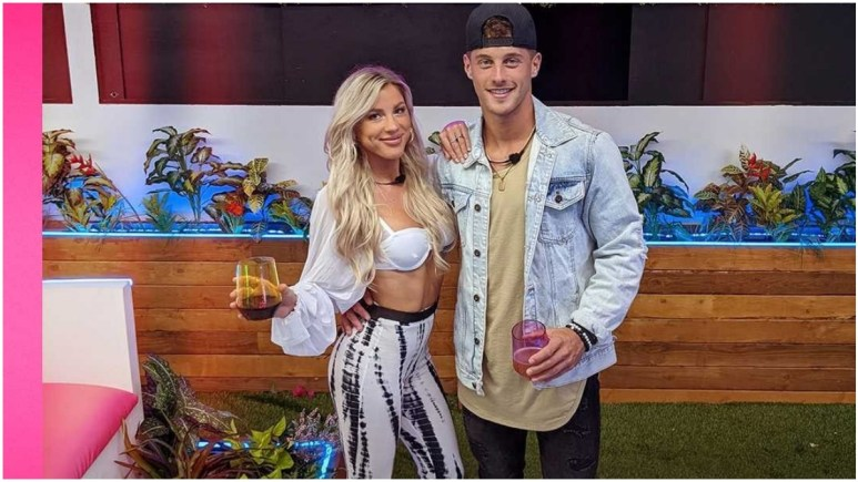 Shannon and Josh on Love Island USA