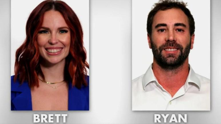 MAFS couple Brett and Ryan